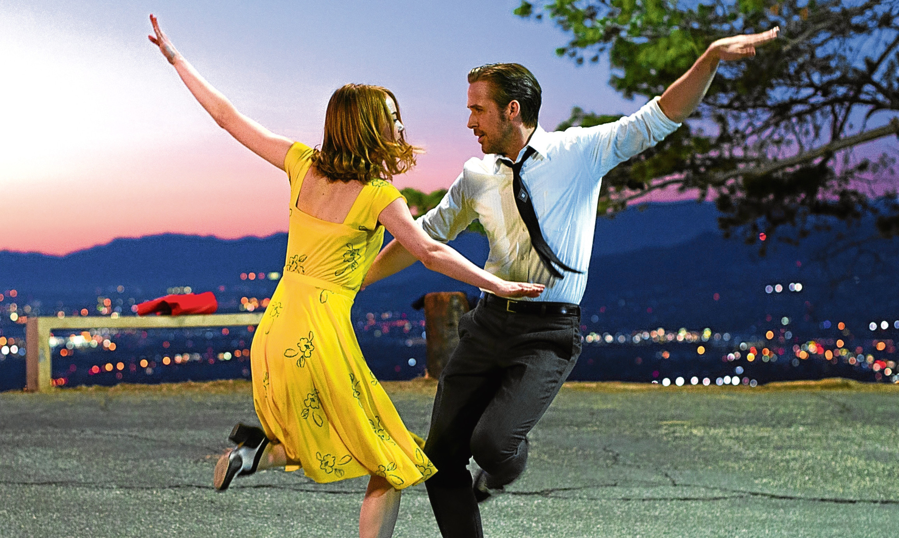 Lucy says La La Land, starring Emma Stone and Ryan Gosling, is a great piece of escapism - if you allow it to be.