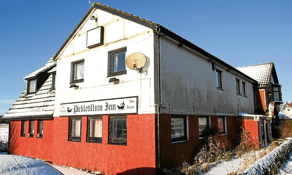 The former Pickletillum Inn.