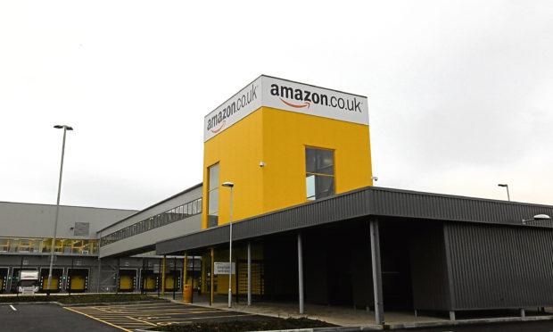 Amazon's Dunfermline fulfilment centre.