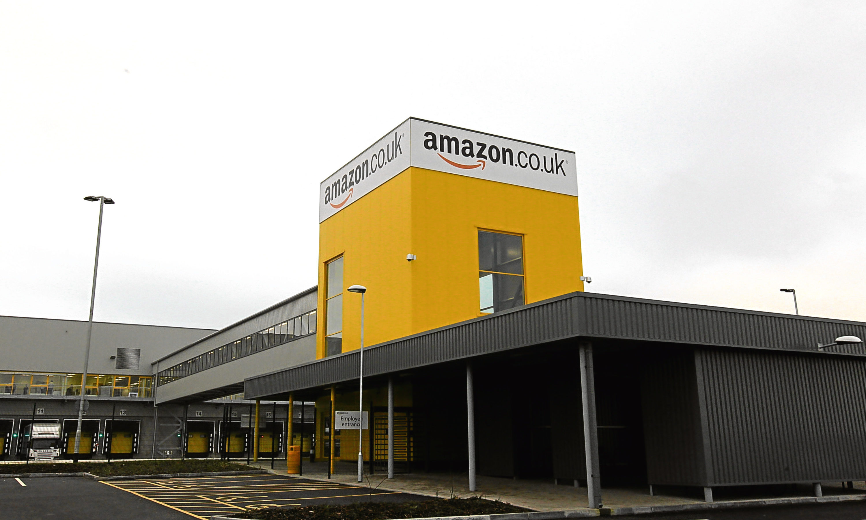 Amazon's Dunfermline fulfilment centre.