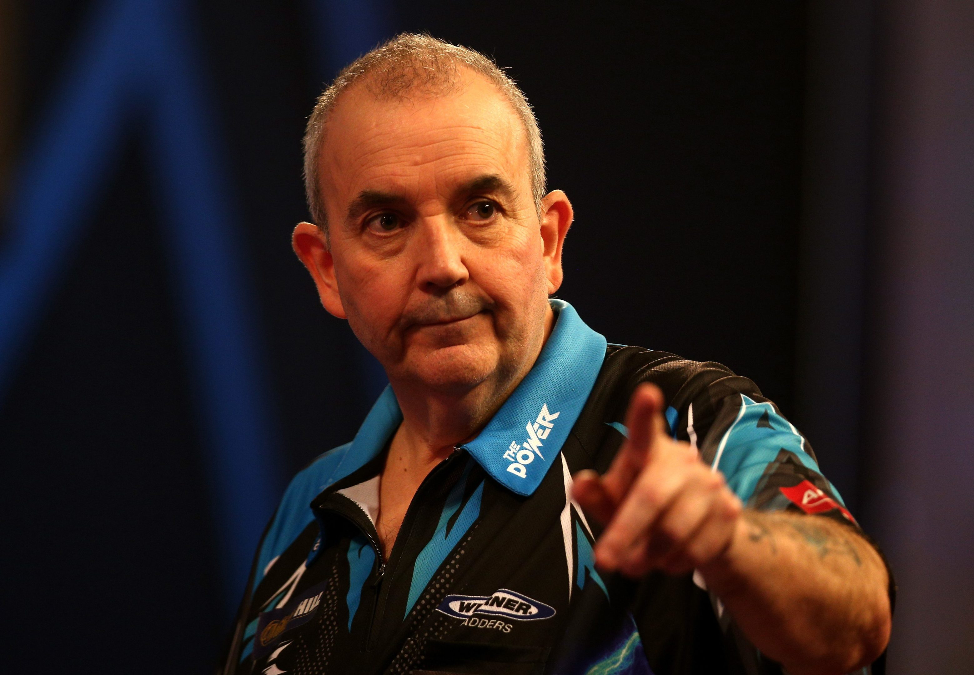 """Phil """"The Power"""" Taylor."""