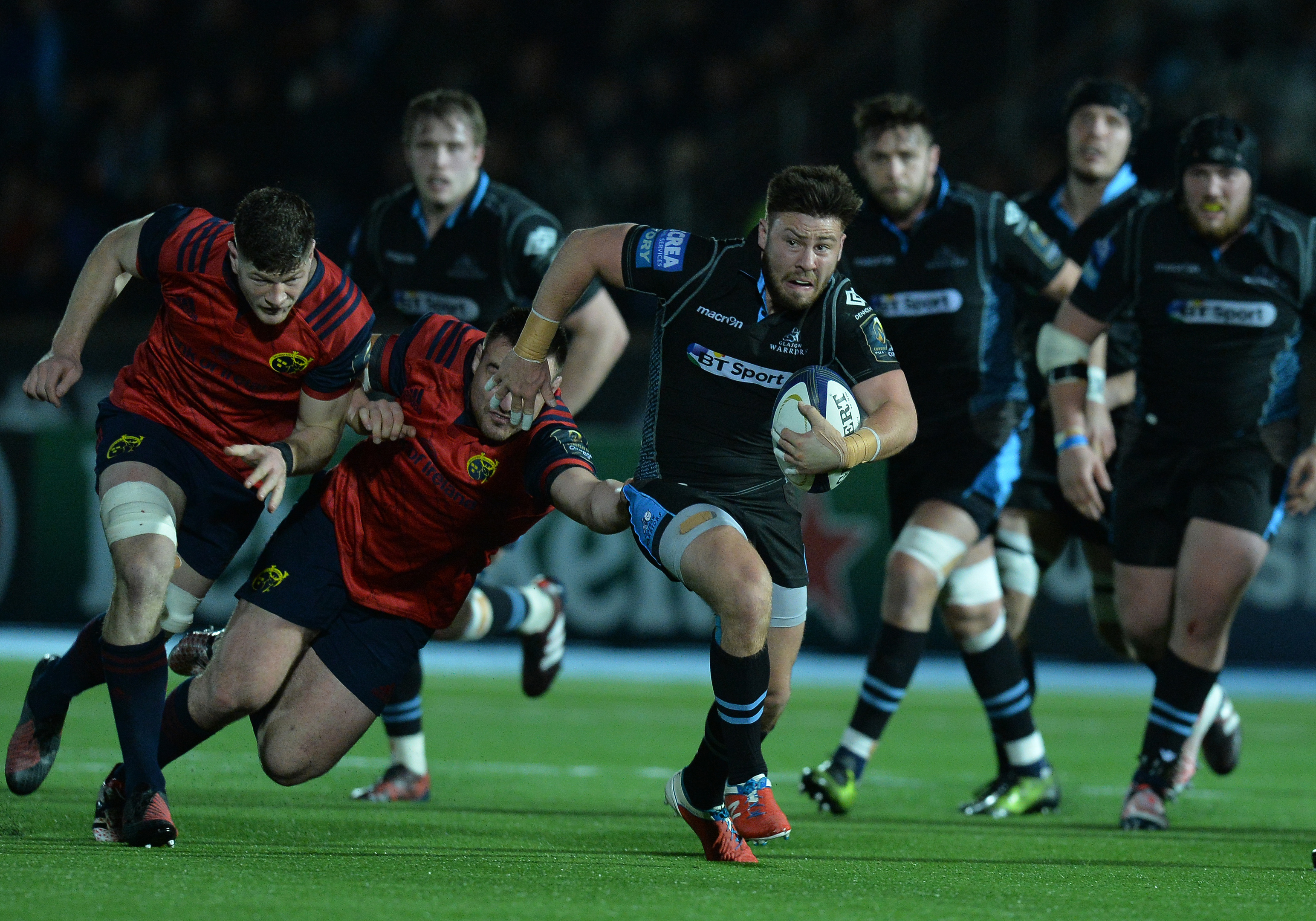 Ali Price is close to a return for Glasgow.