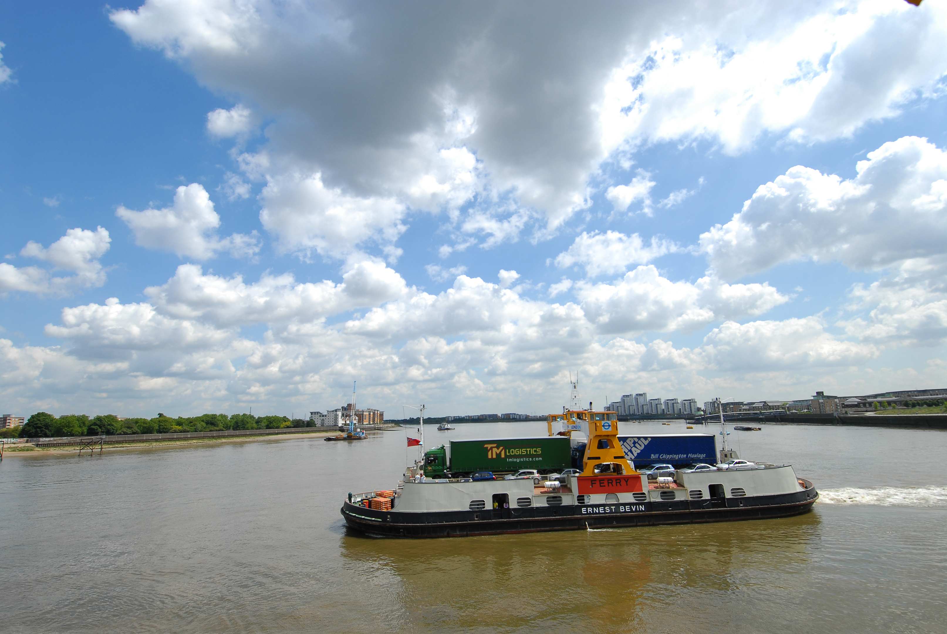 Briggs Marine operates the Woolwich free ferry across the River Thames.