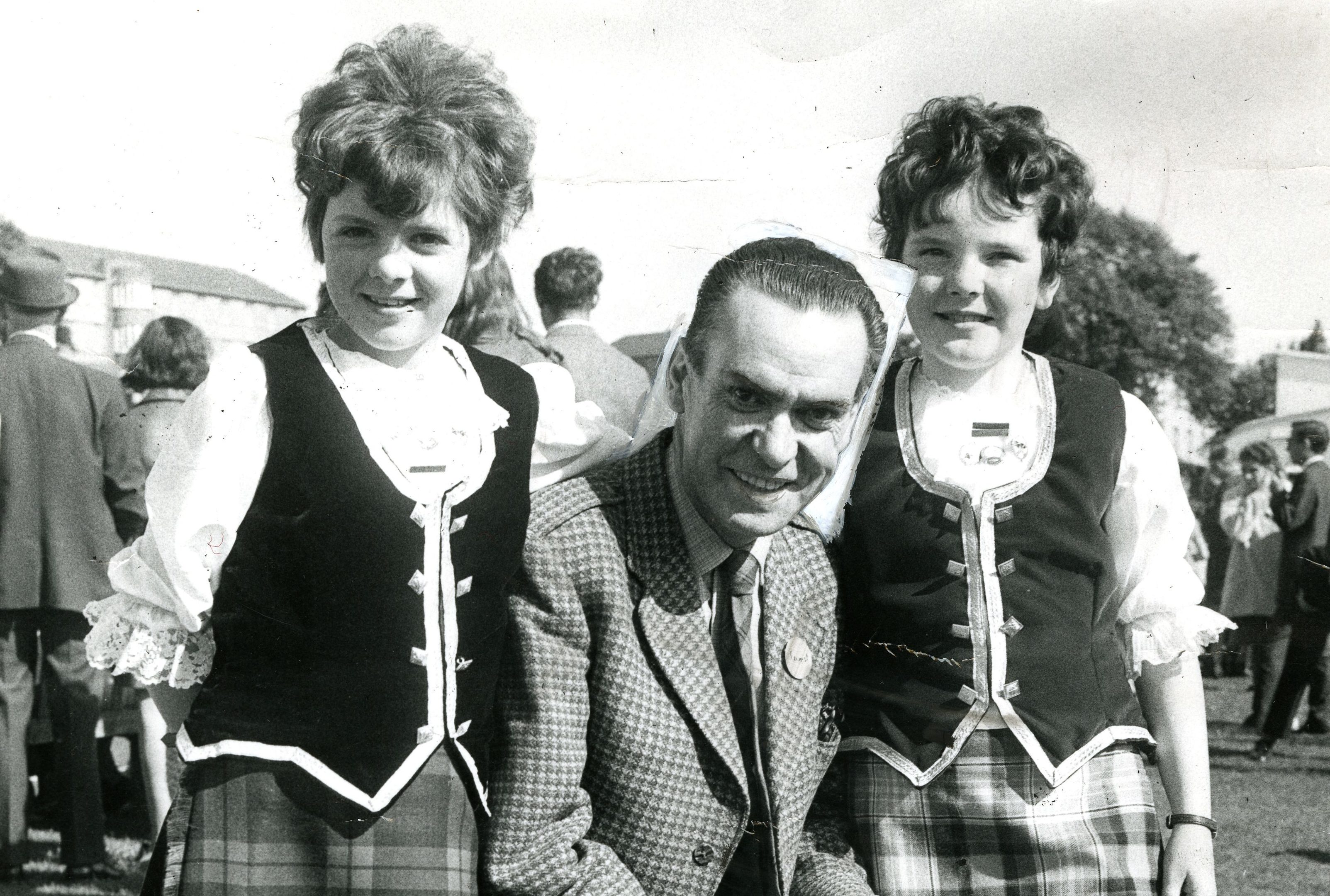 Starr at Strathmartine Hospital fete in September 1971