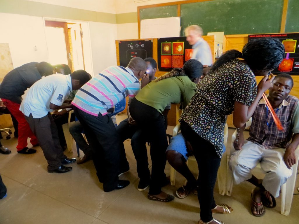 A clinic in Africa