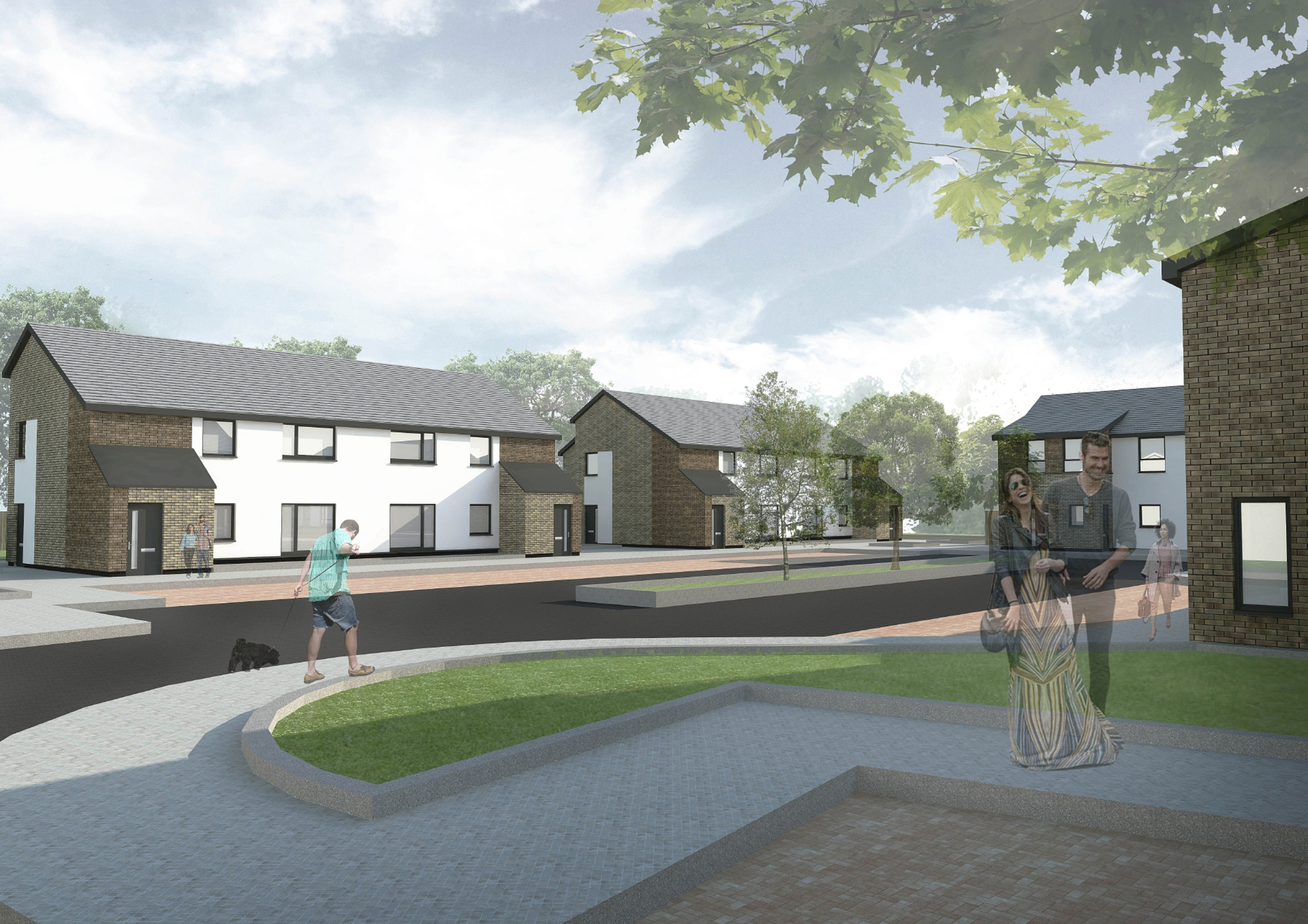 An image of the the development at Birch Avenue, Scone.