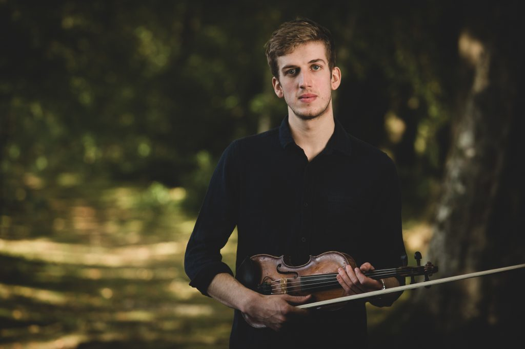 Charlie began learning the fiddle at age 9. His talent has since taken him all over Europe.