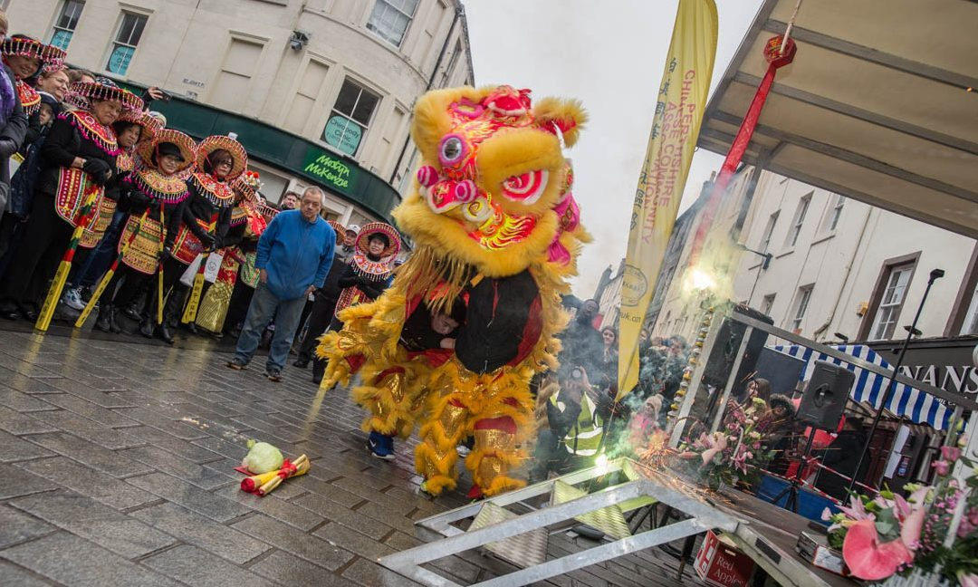 Chinese New Year celebrations in Perth.