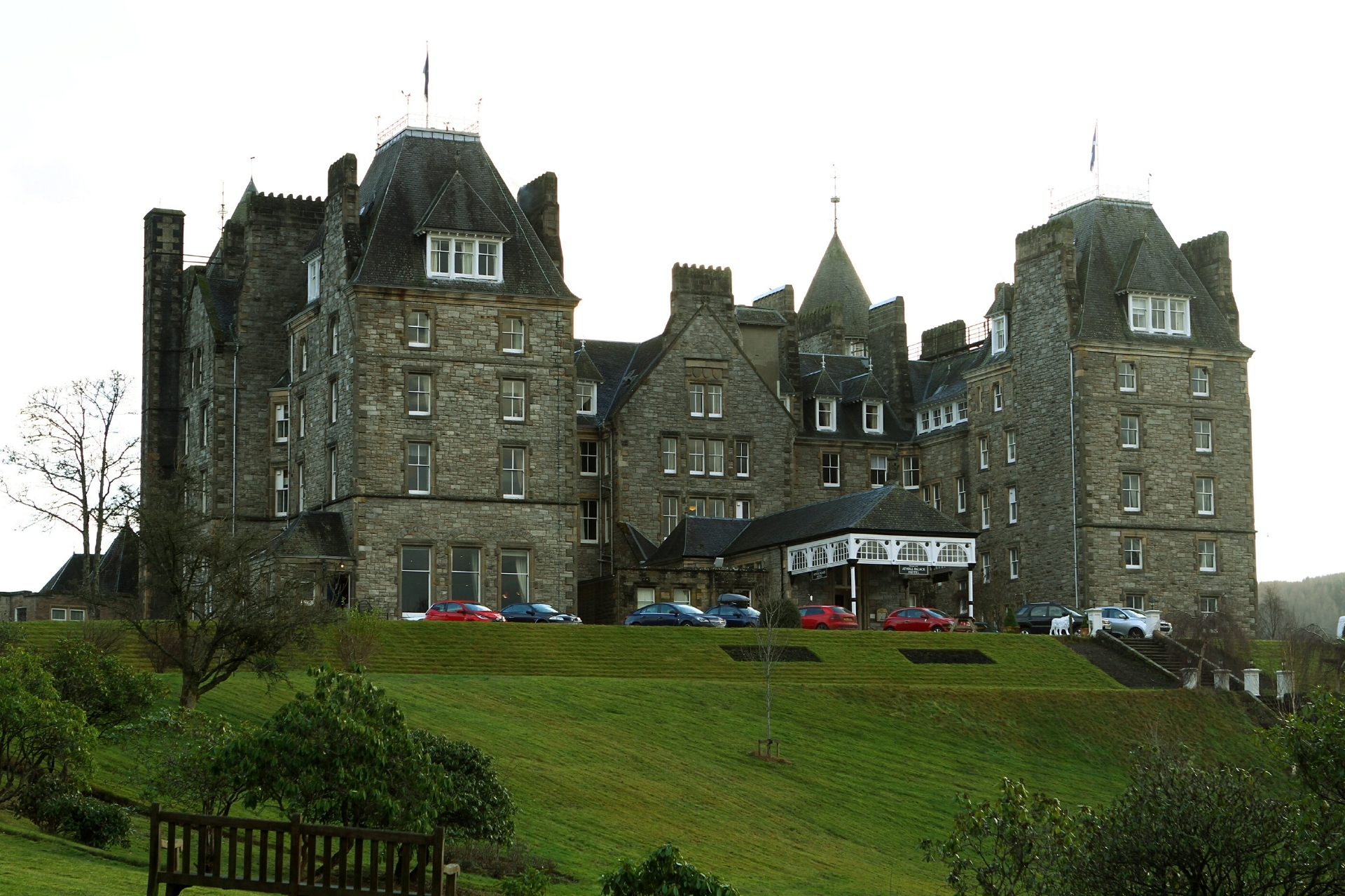The Atholl Palace Hotel, Pitlochry.