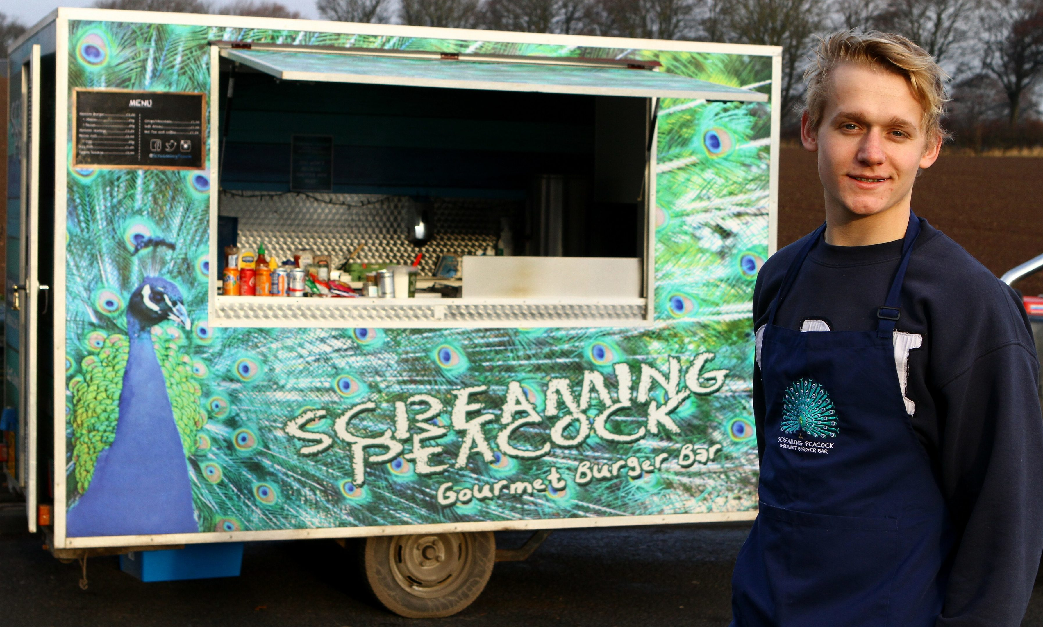 Guy Wade launched the  Screaming Peacock last summer