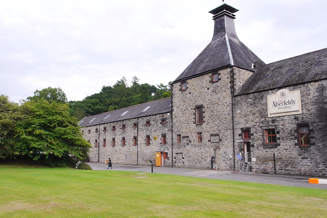 Aberfeldy Distillery.