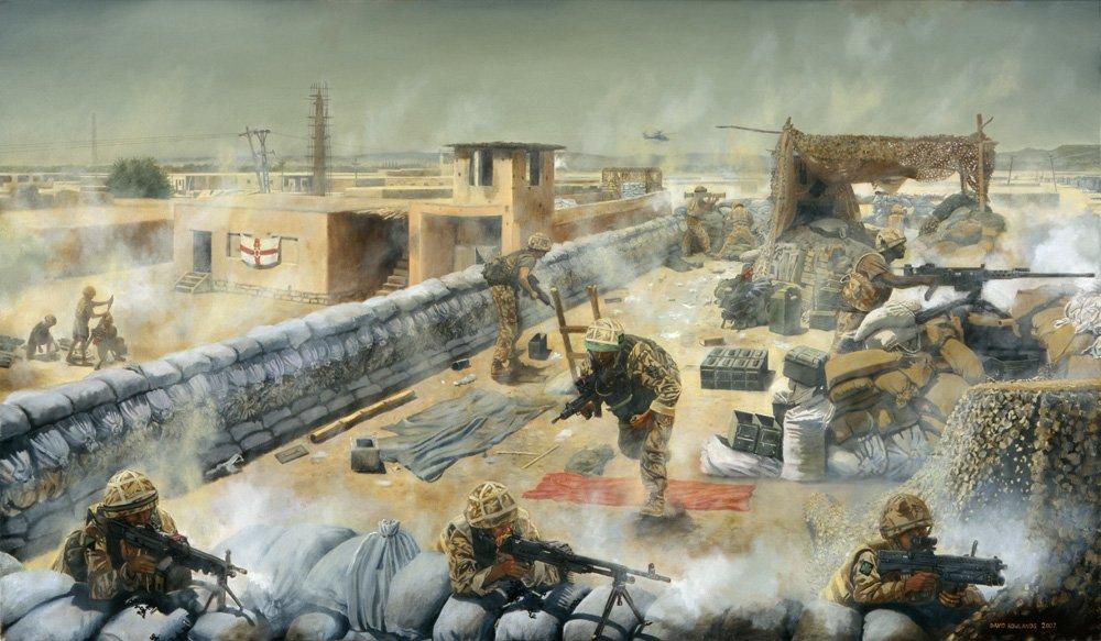 Fighting the Taleban in Musa-Qaleh, 2006.