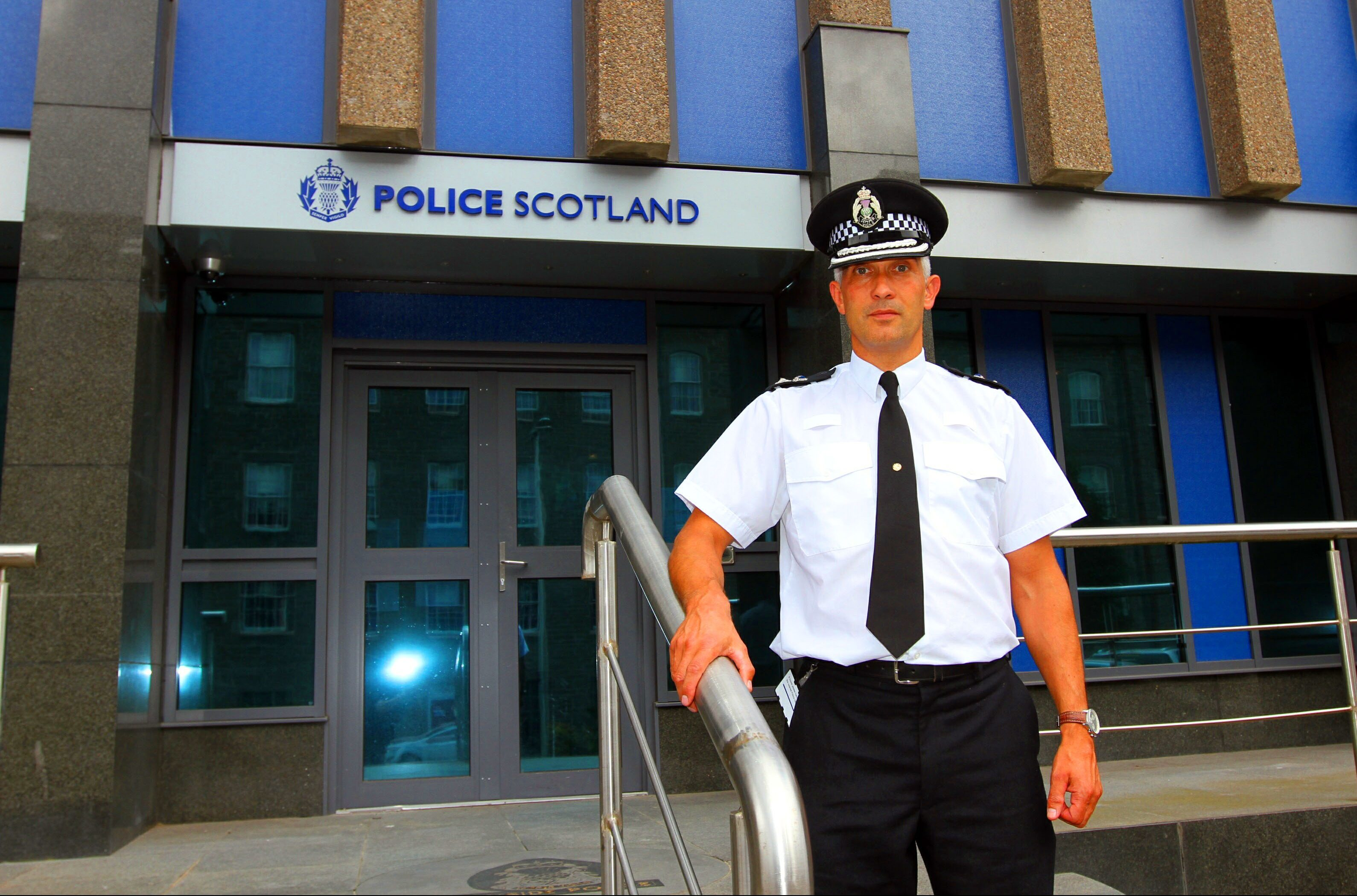 Chief Superintendent Paul Anderson