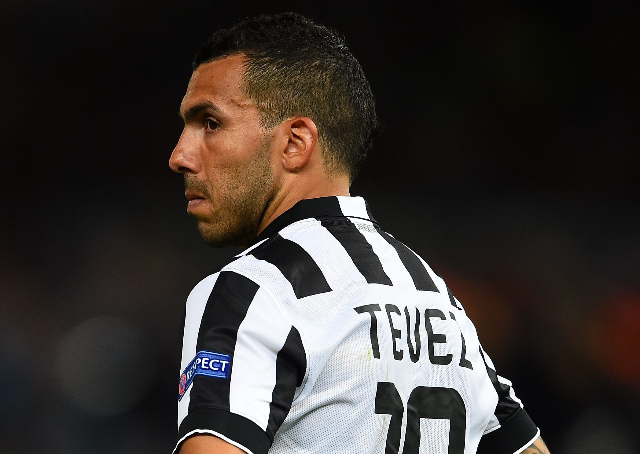 Part of the Chinese football revolution - Carlos Tevez.