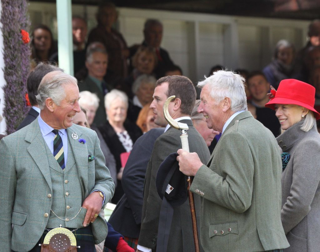 HRH Prince Charles at a previous Braemar Gathering