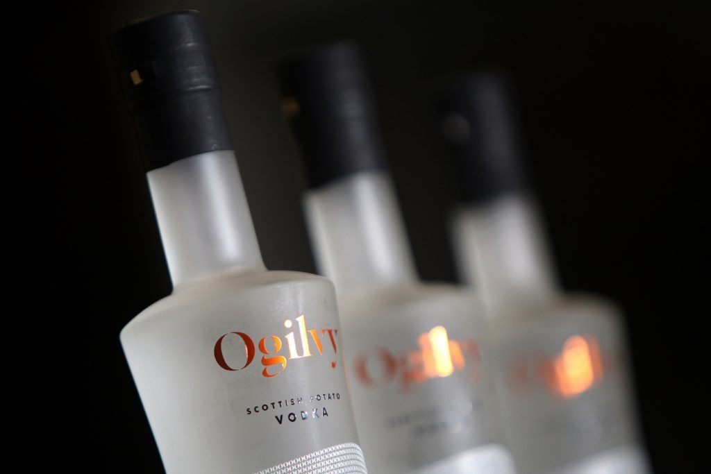 Award-winning taste and design - Ogilvy Vodka.