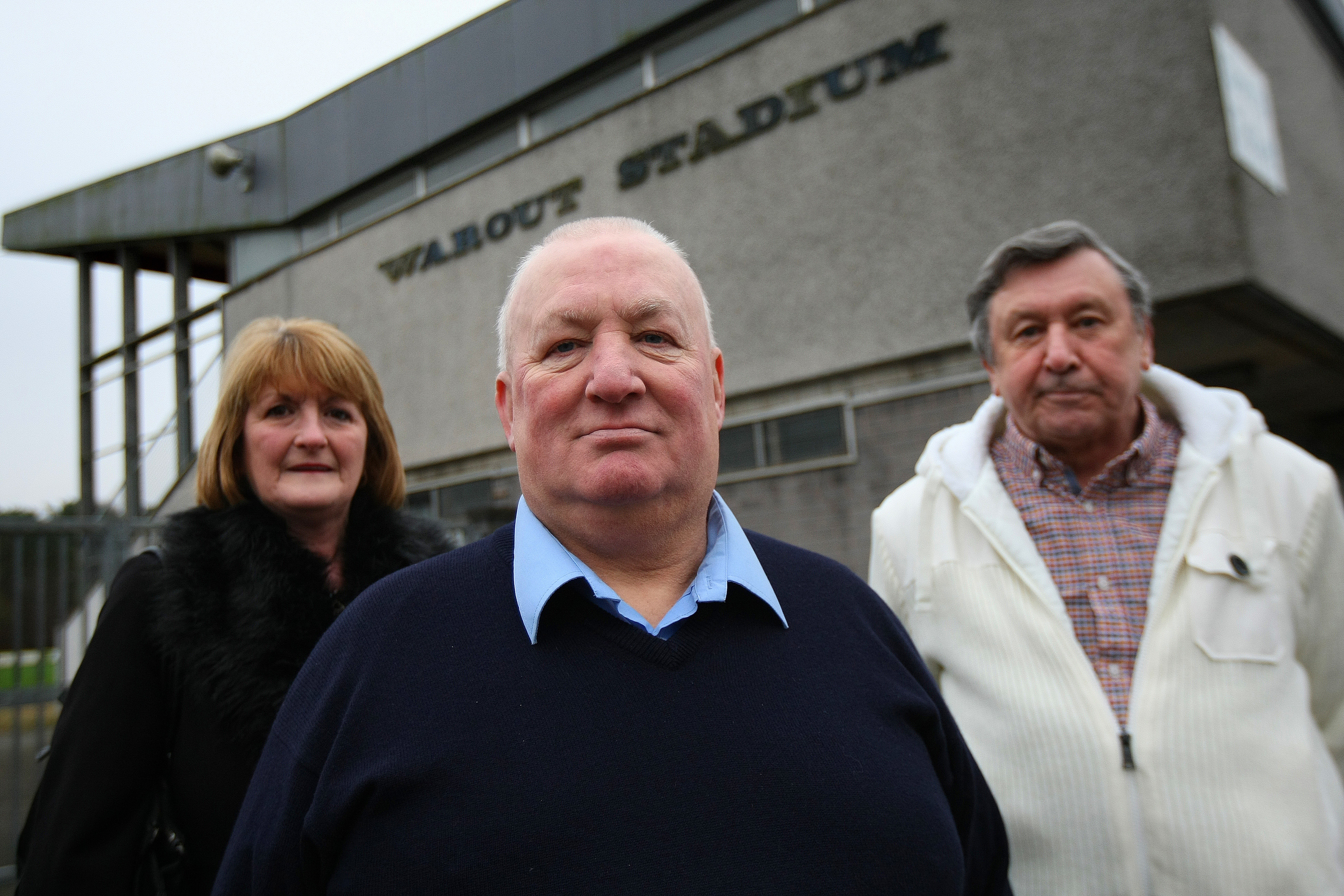 Shiela Mitchell, Auchmuty and Dovecot Tenants Association, Davie Nelson and Ian Robertson, from Glenrothes Area Residents Federation (GARF).