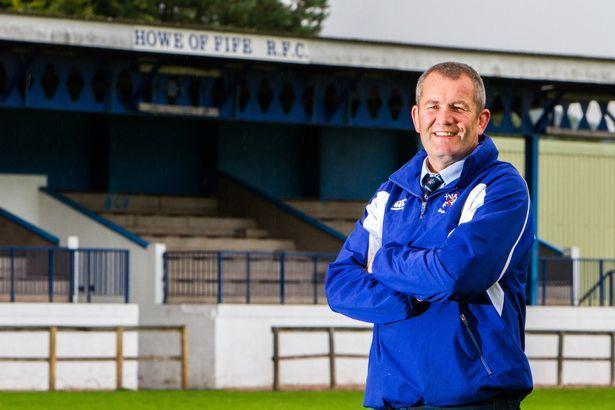 Howe of Fife Rugby Club president Murdo Fraser