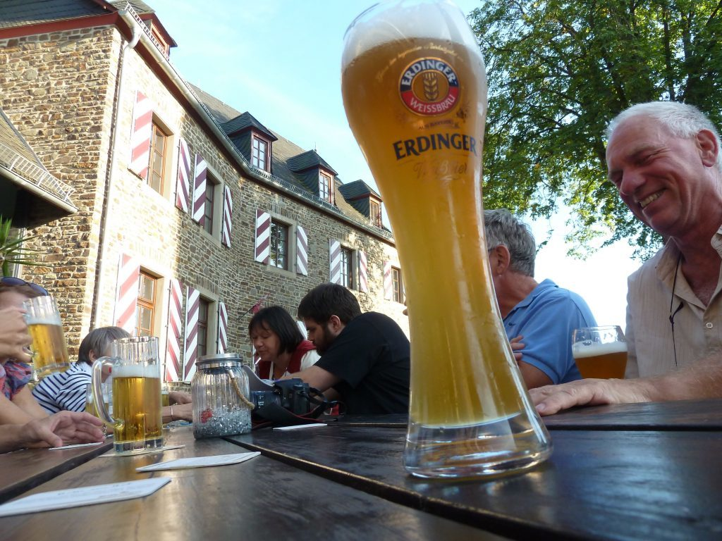 Long days in the sunshine were followed by even longer evenings enjoying good company and the outstanding German beers.