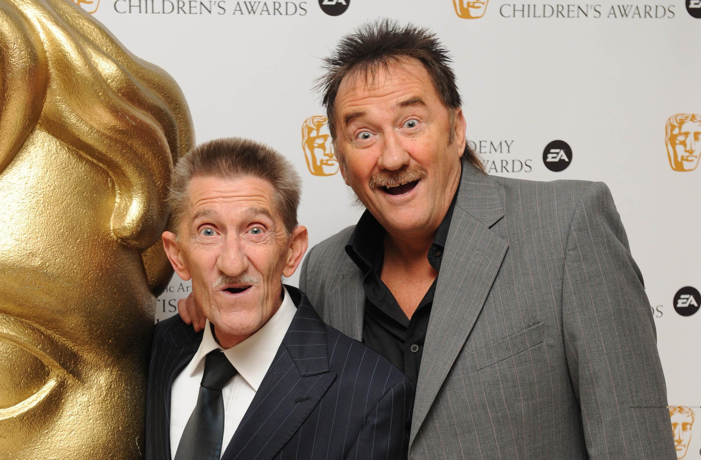 The Chuckle Brothers.