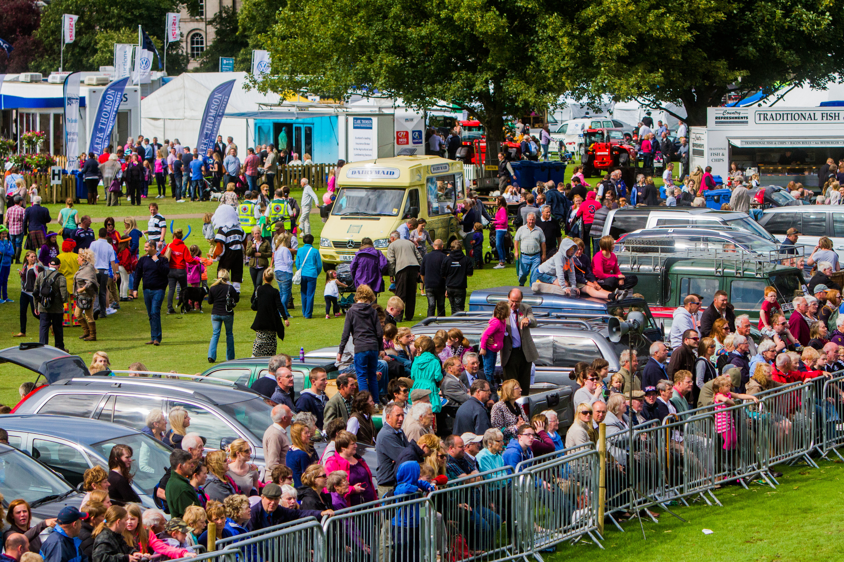 Perth Show is one of the events which could be impacted by the new £5K bond.