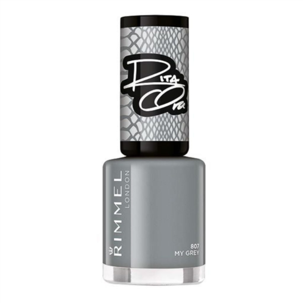 Glad to be grey with Rita Ora's Rimmel Valentine's collection.