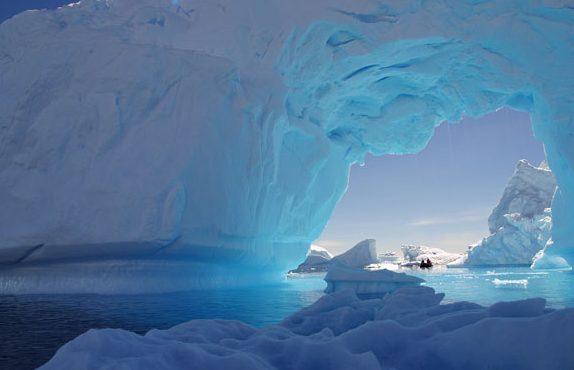Roger Slade has made many trips to the Antarctic