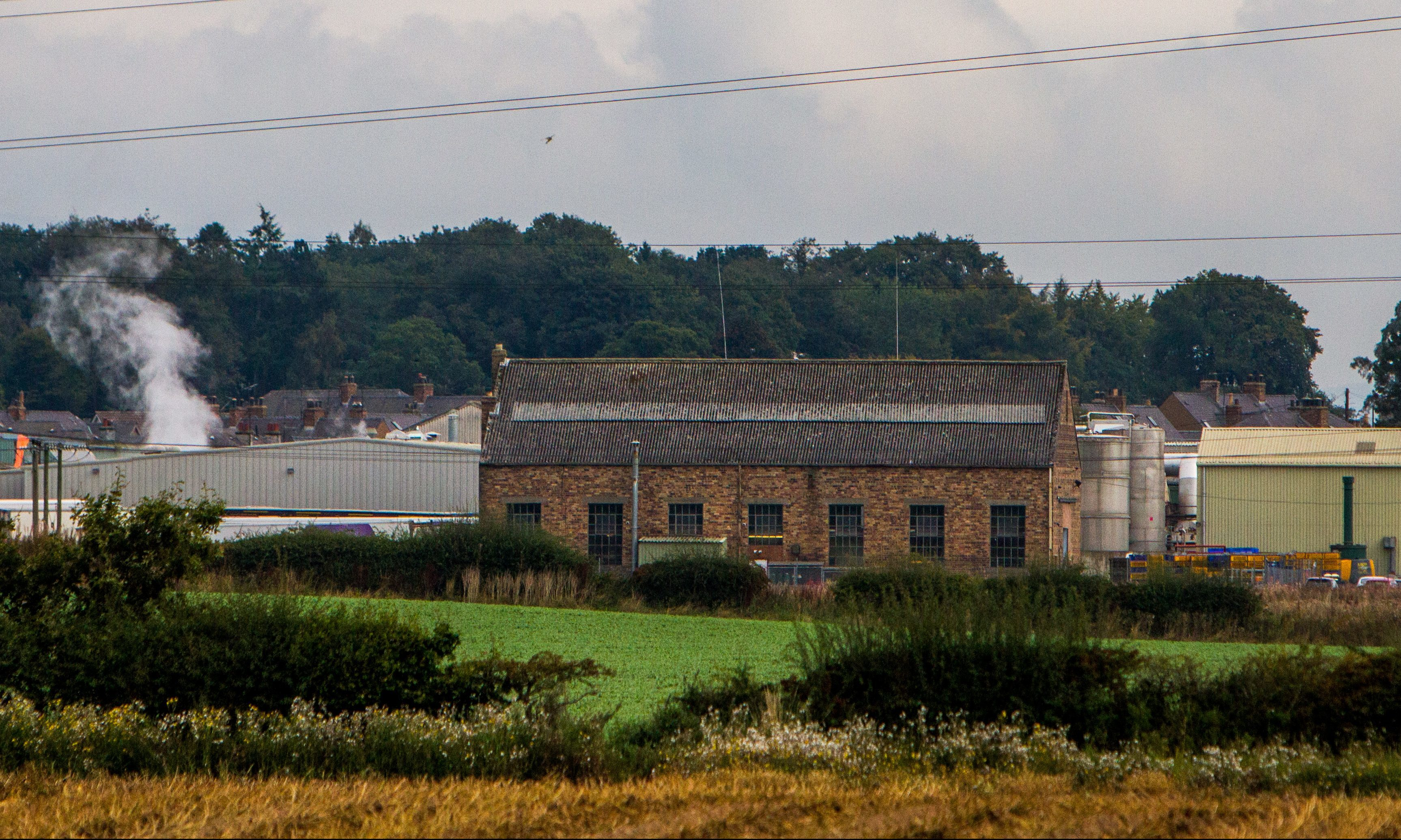 The 2 Sisters Group chicken factory in Coupar Angus.