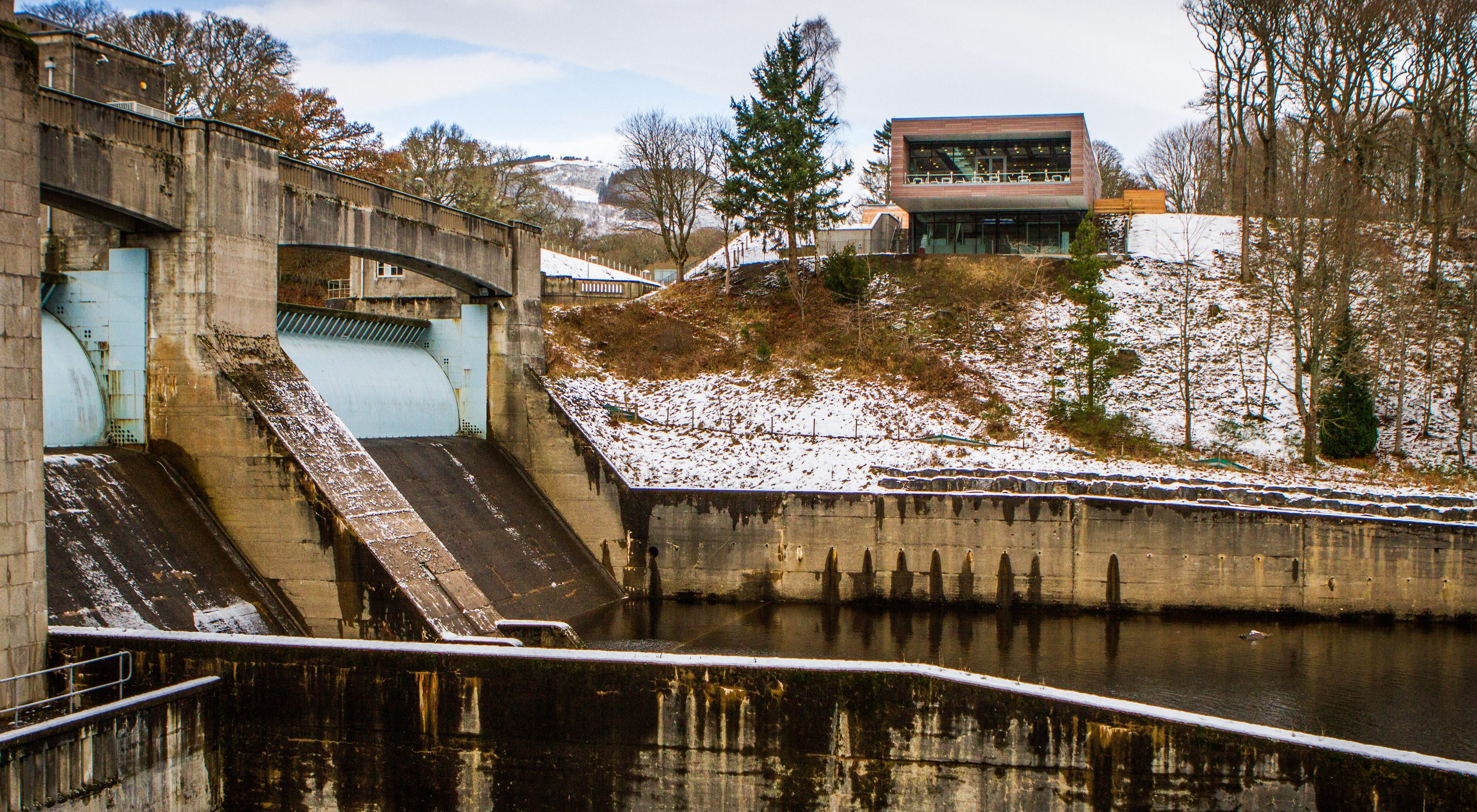 Pitlochry Dam visitor centre.