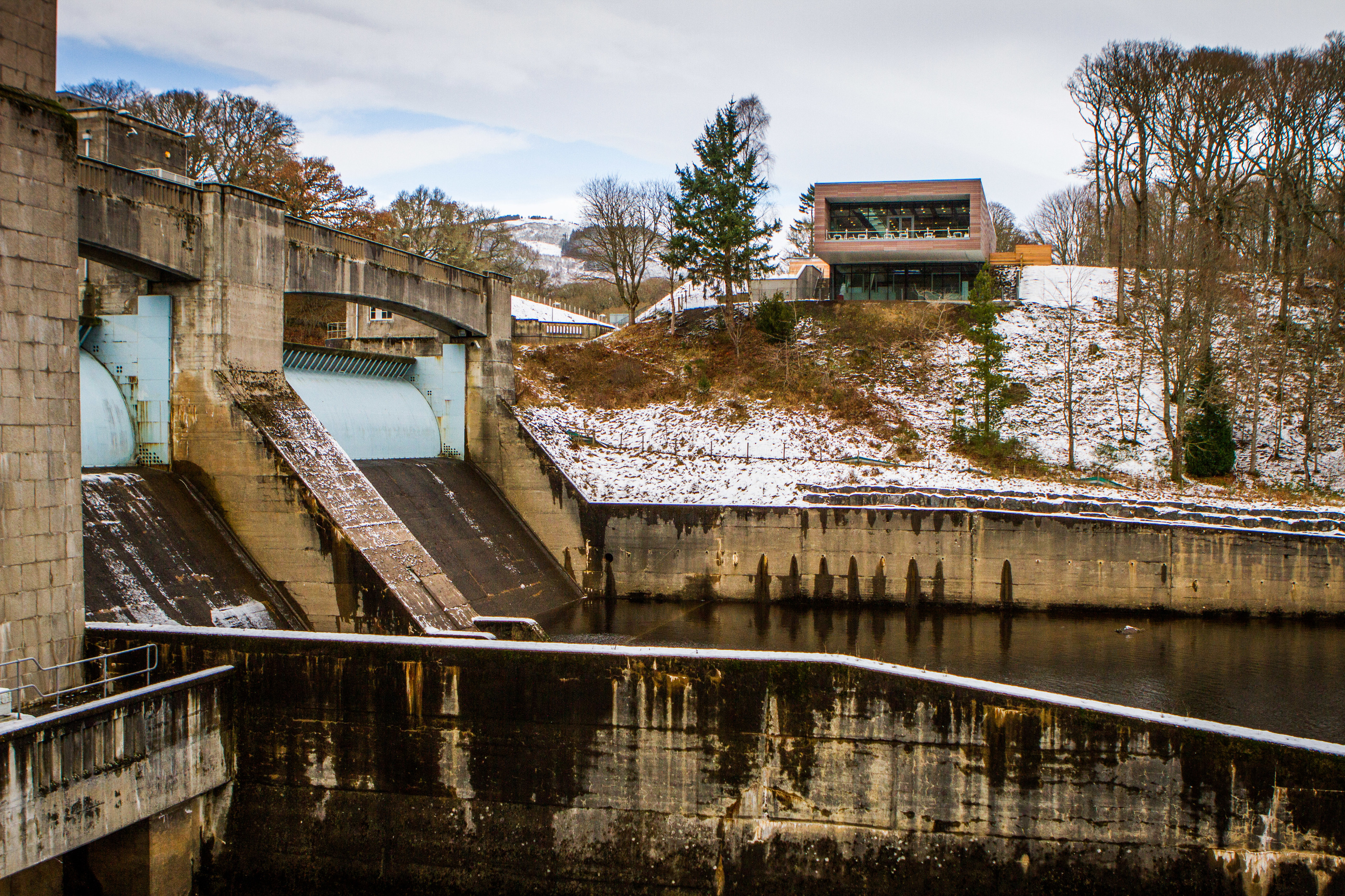 Pitlochry Dam is featured in the book.