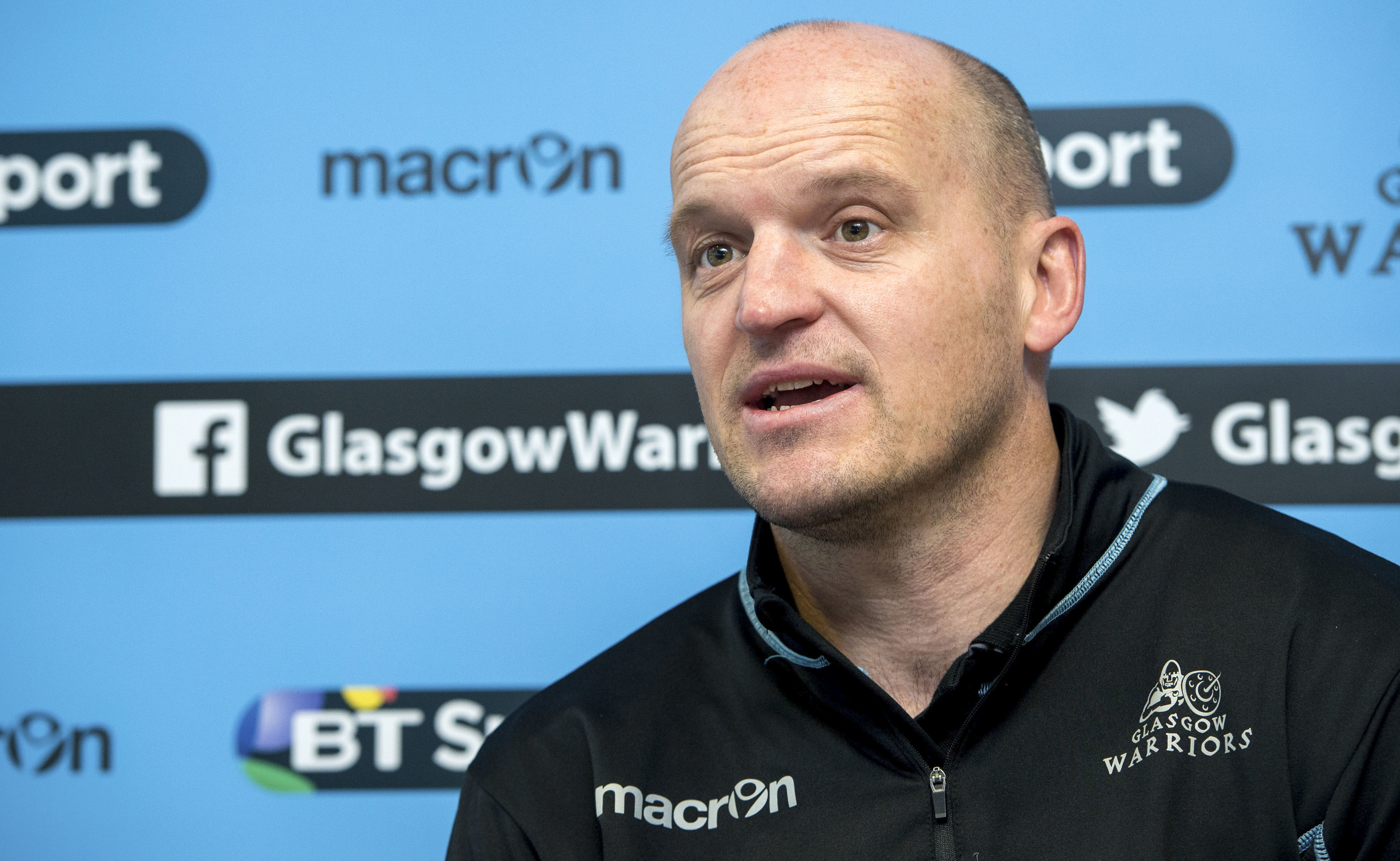 "Gregor Townsend hailed Glasgow's victory in Treviso as ""a courageous away win""."