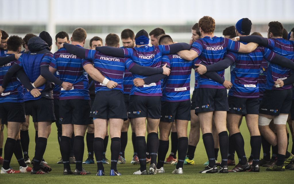 Scotland's Six Nations squad preparing for Six Nations Game against Ireland