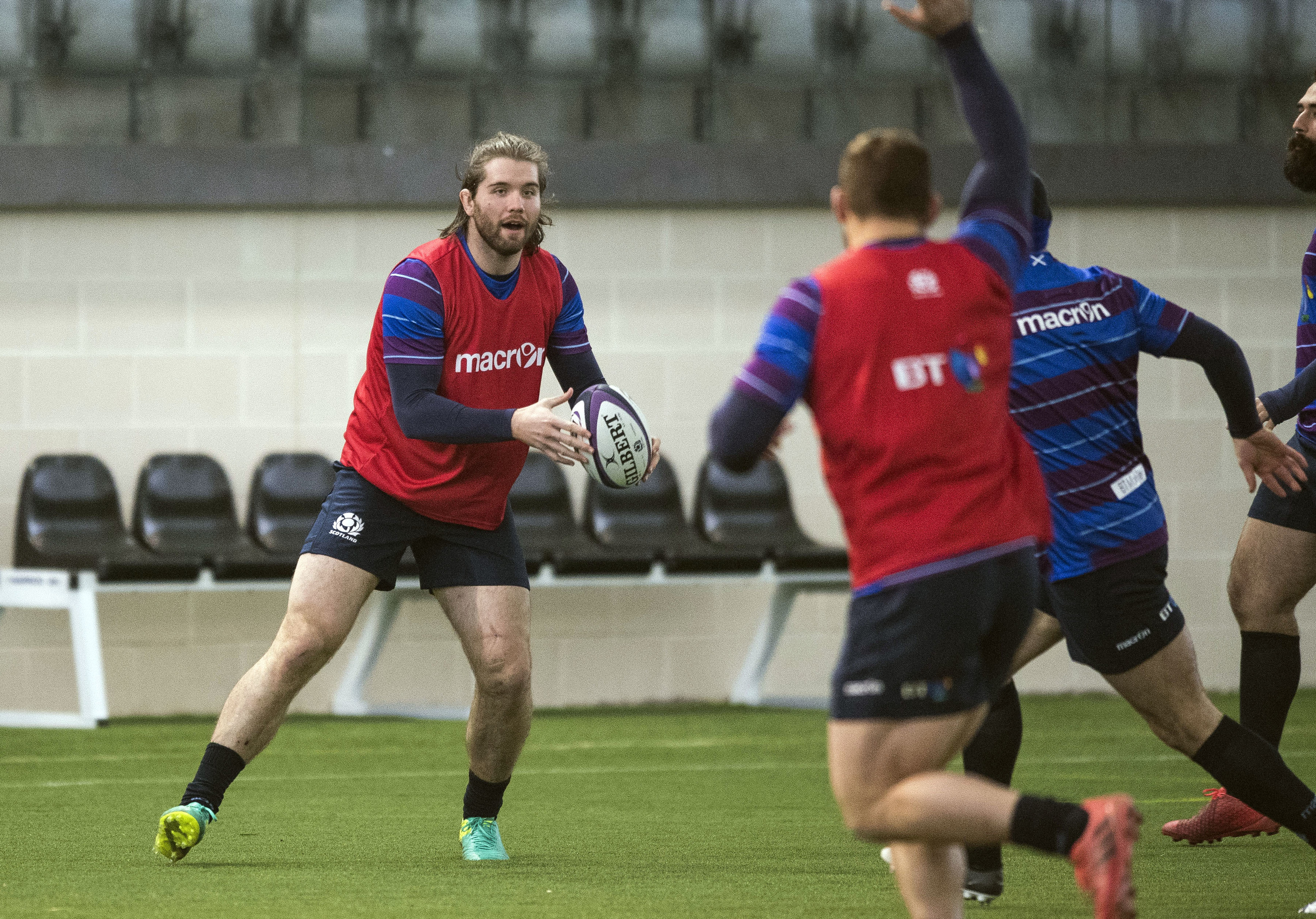 Ben Toolis is back in the Scotland squad but it's a real battle for second row places.