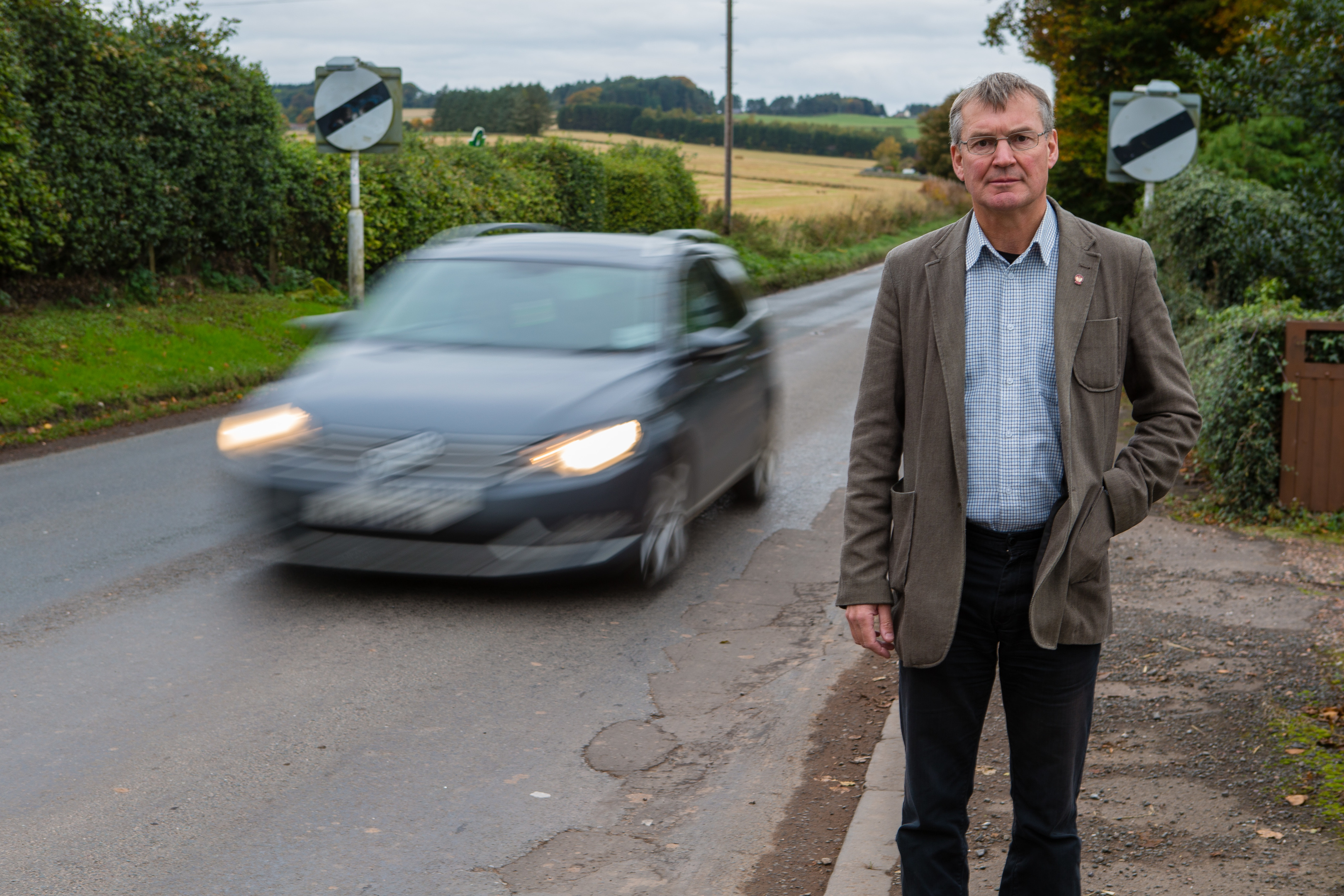 The A912 from Gateside is to be resurfaced but other major projects may lead to crisis point, warned Cllr Donald Lothian