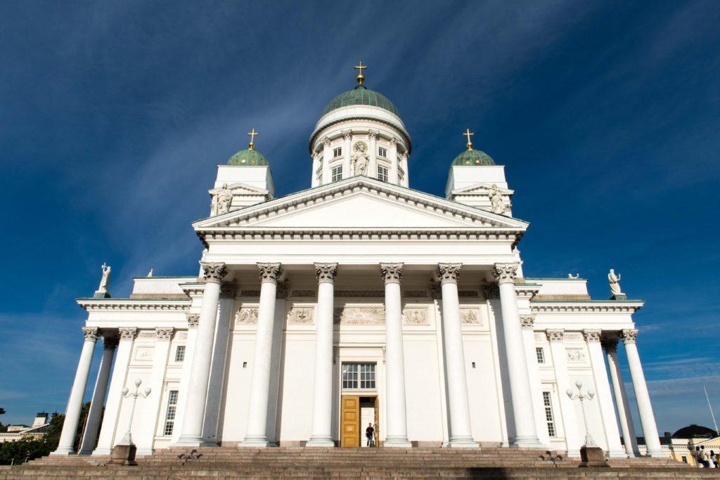 Helsinki Tuomiokirkko.cathedral, Finland.