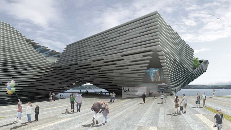 The V&A will open in 2018.
