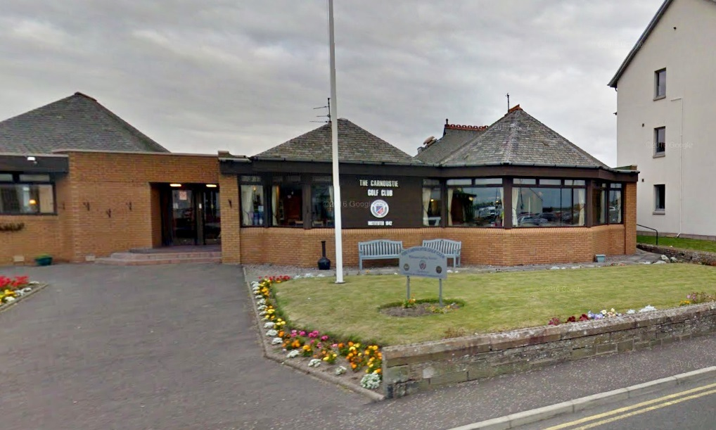 The Carnoustie Golf Club in Links Parade.