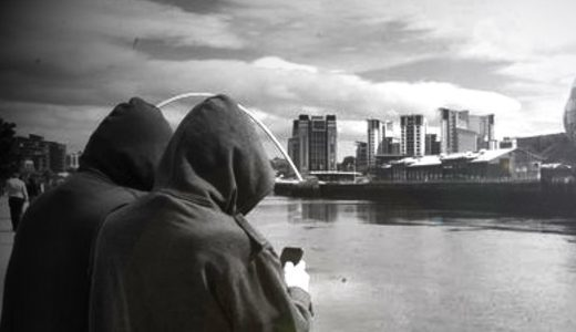 Young was snared by a group of paedophile hunters who call themselves Dark Justice.
