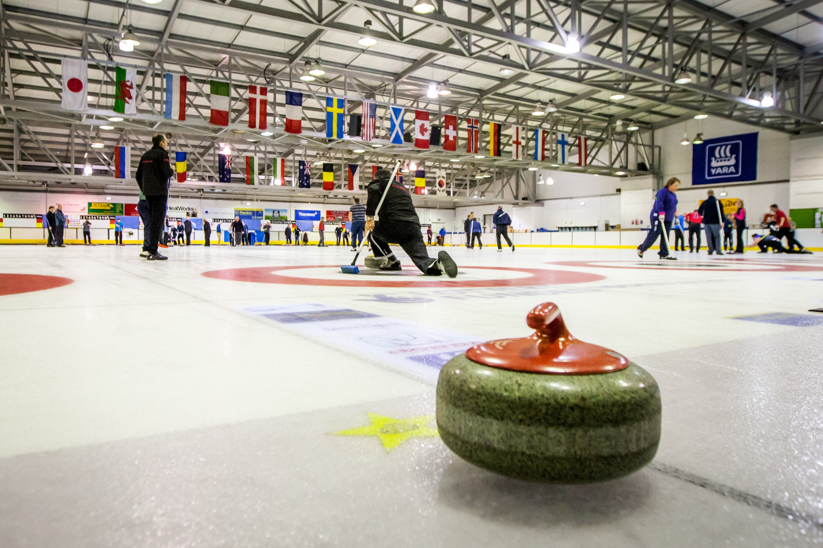 Curling in Perth.