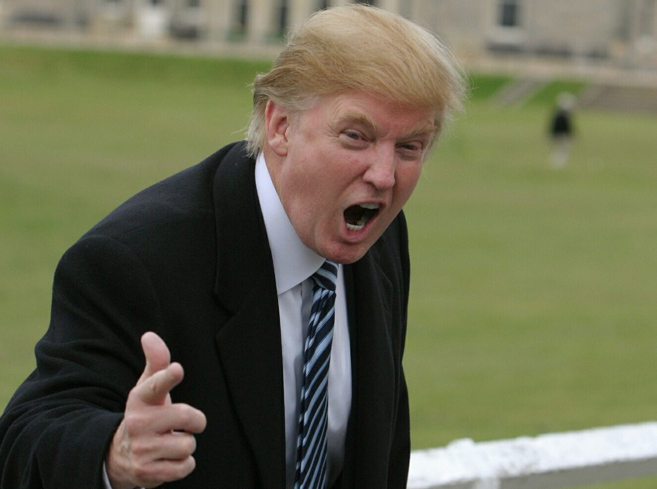Donald Trump is not happy.