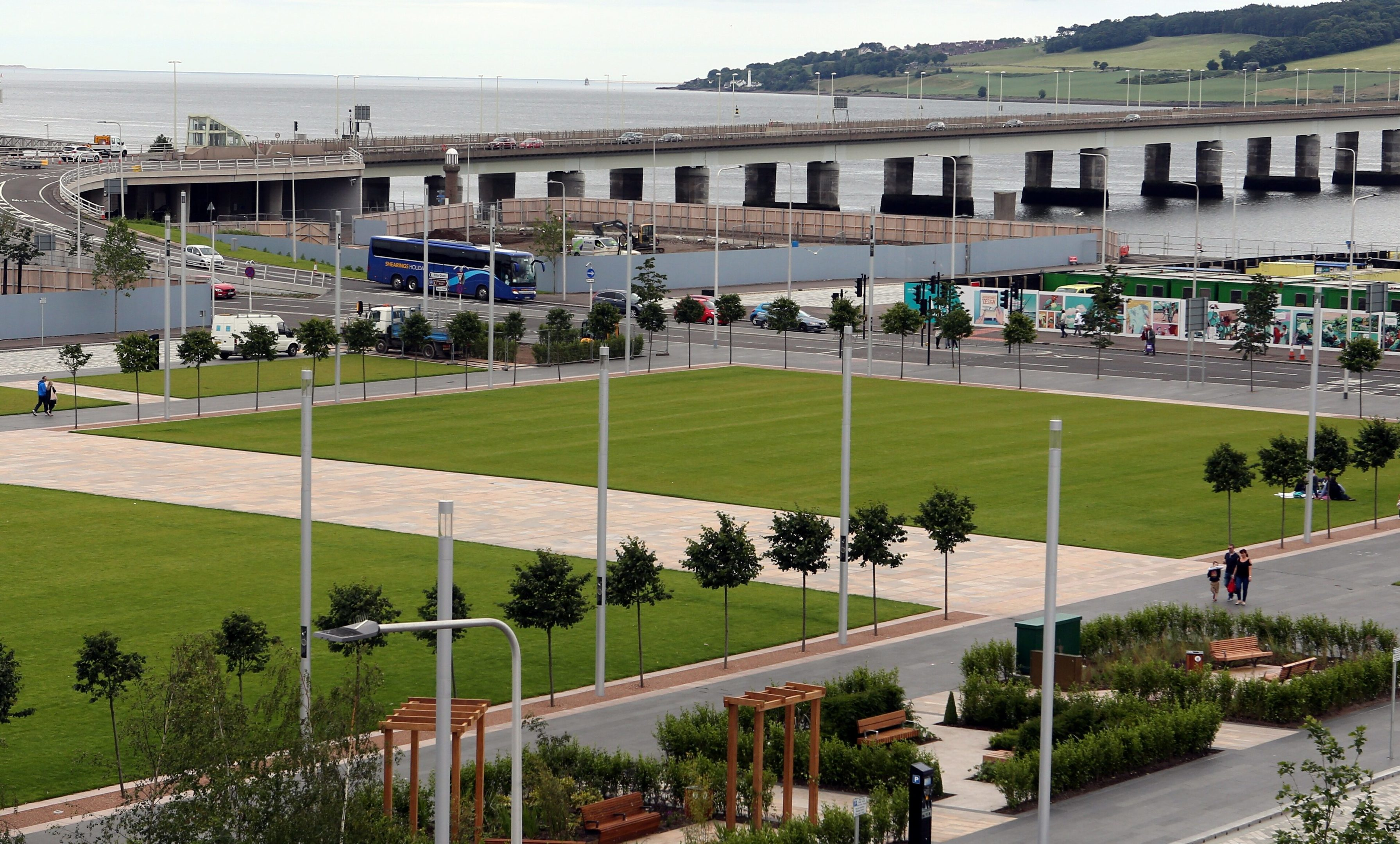 Slessor Gardens will host one of four Big Sleepouts taking place in Scotland this year.