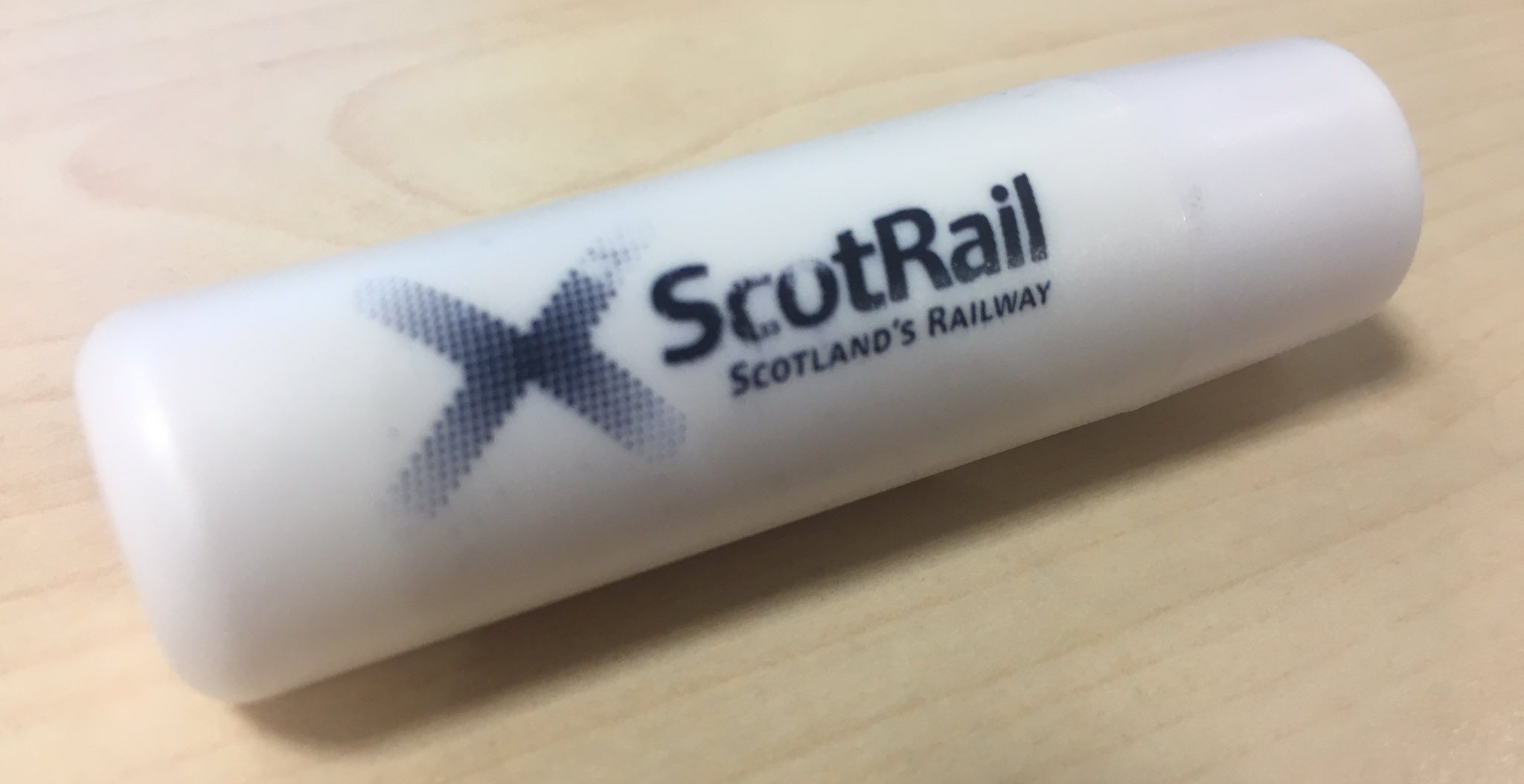 ScotRail came under fire from some passengers for handing out the free gifts.