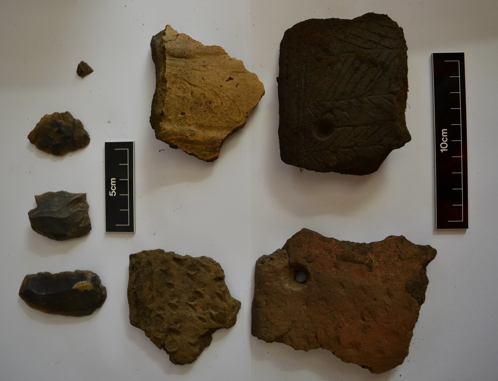 Artefacts found near St Andrews.