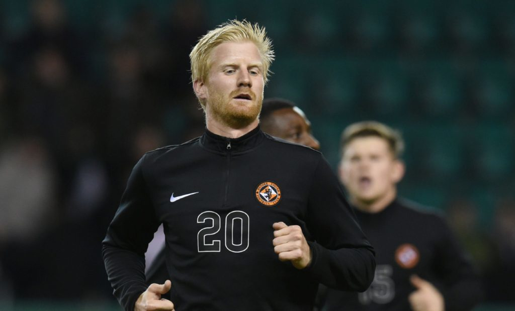 07/01/16 LADBROKES CHAMPIONSHIP HIBERNIAN v DUNDEE UNITED EASTER ROAD - EDINBURGH Dundee United's Thomas Mikkelsen