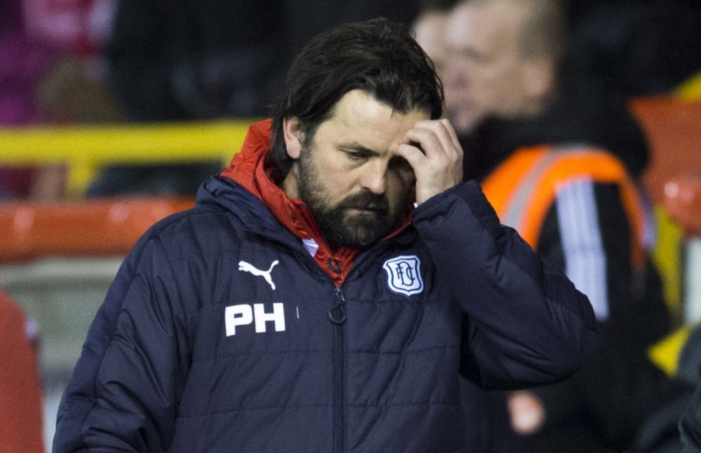 Hartley's Dundee endured an inconsistent 2016/17 season.