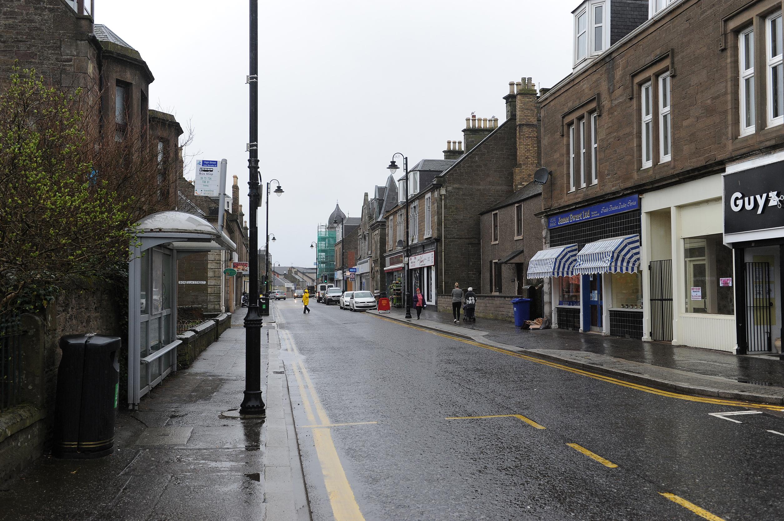 Carnoustie High Street.