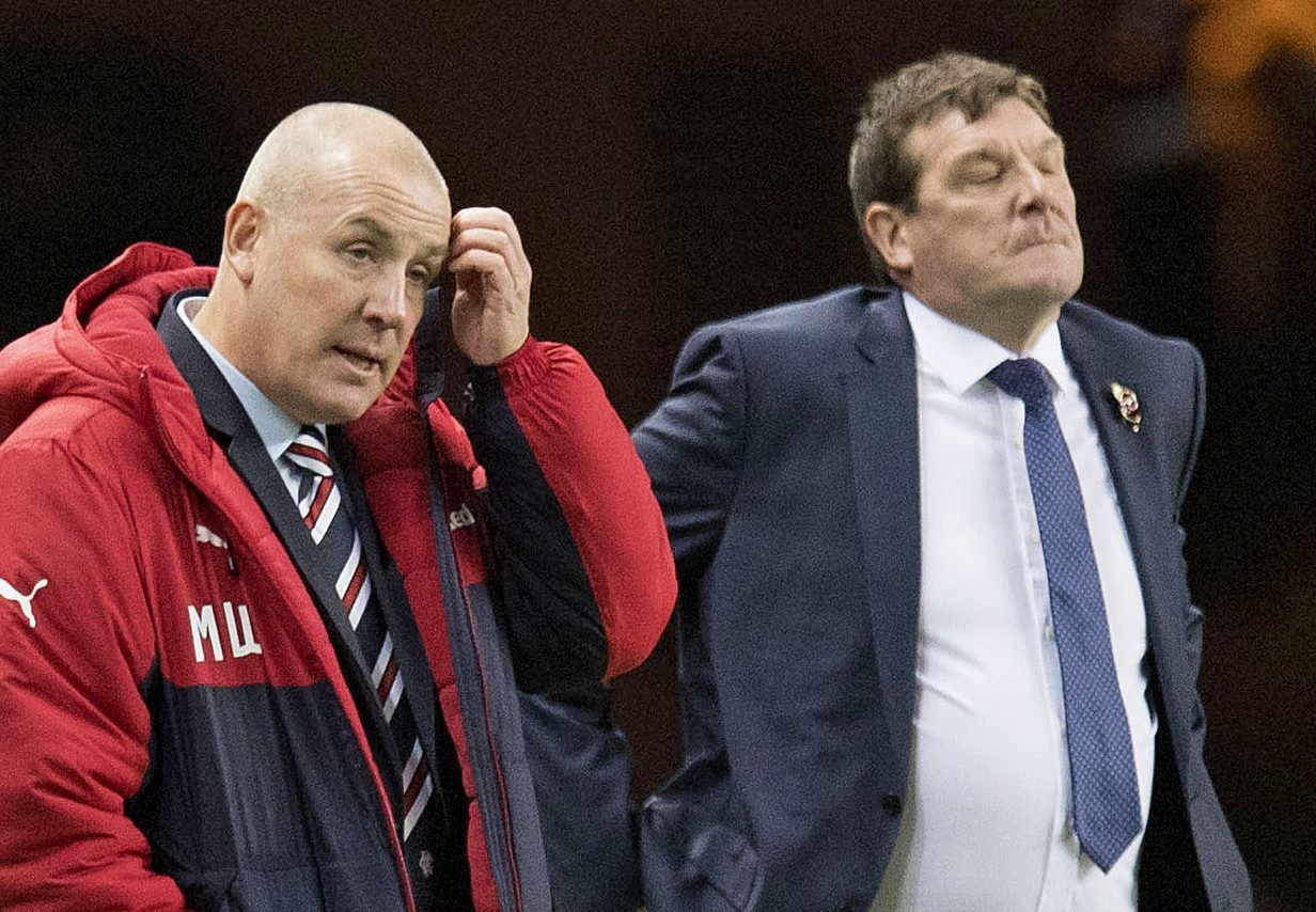 Tommy Wright and Mark Warburton.