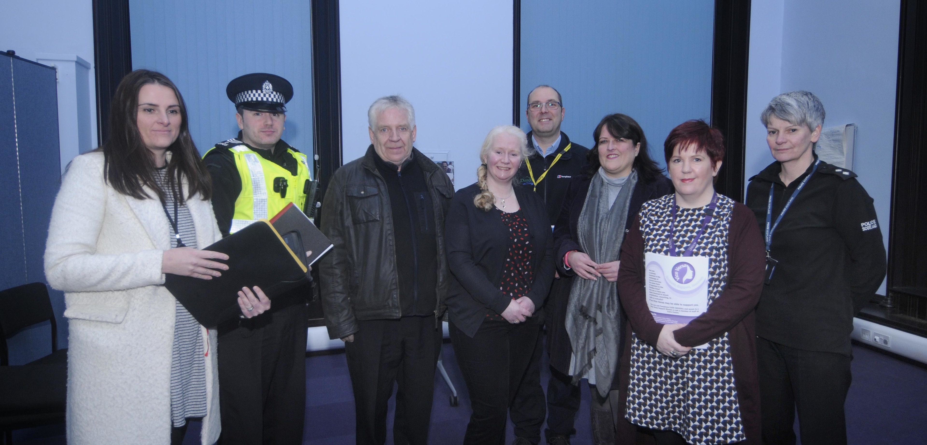 A cross-sector meeting was held to address the concerns expressed by Arbroath Road homeowners.