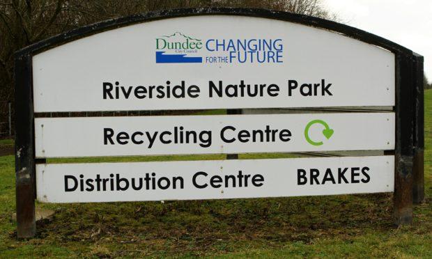 Riverside Nature Park, the site of the former Riverside Landfill.
