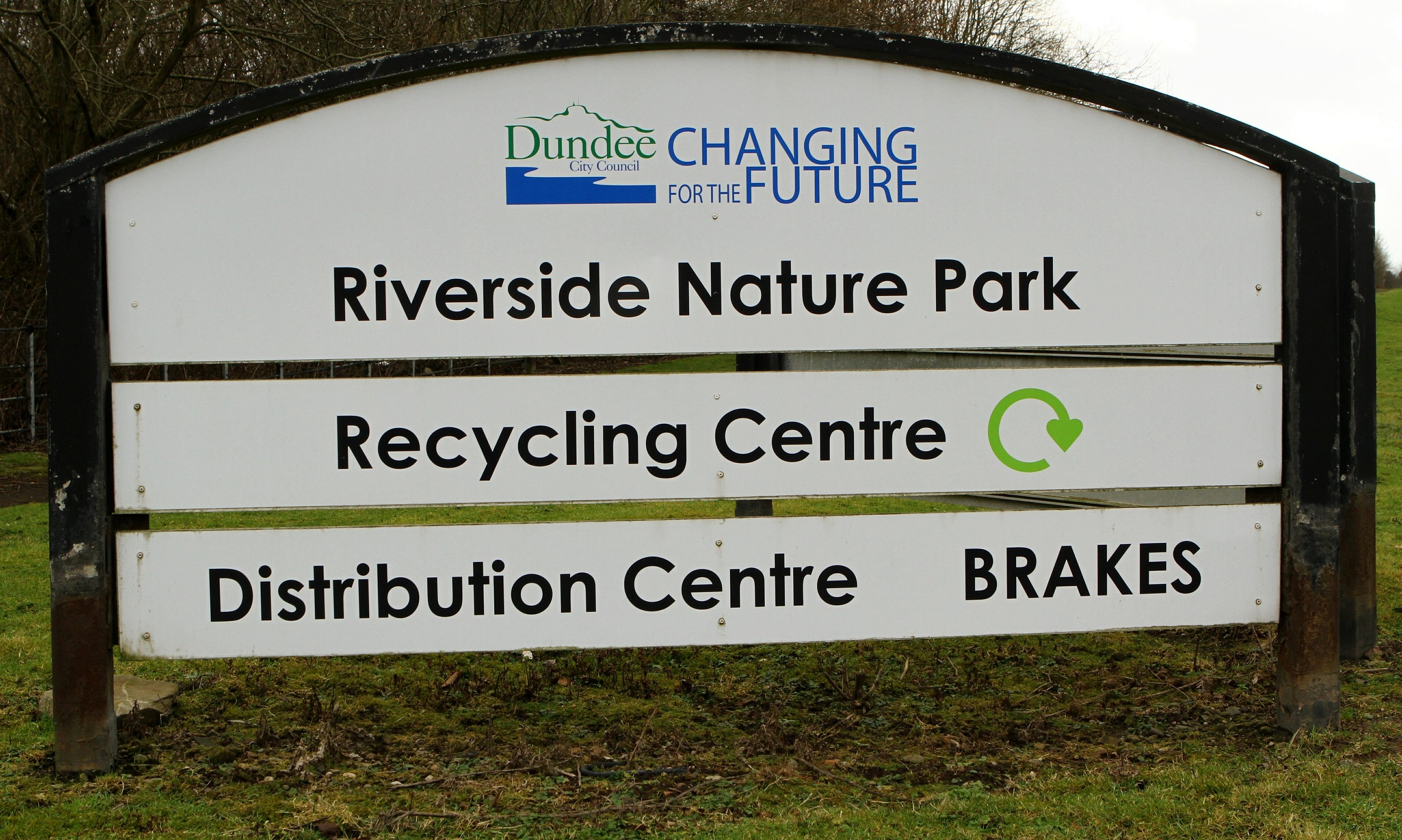 Riverside Nature Park, the site of the former Riverside Landfill.
